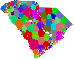 New York State Assembly District Map by South Carolina House Of Representatives Redistricting