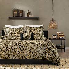 cheetah print bedroom decor cheetah print bedding home furniture cheetah print room decor