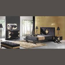 chambres adulte chambre adulte complète 5 pièces baroque contemporain noir et or