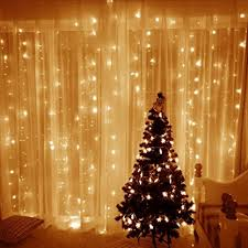 white christmas lights blusow curtain lights 304led 9 8 9 8ft warm white