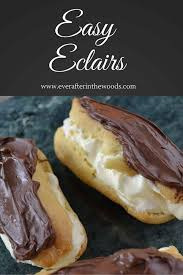 decadent eclair recipe chocolate eclairs pastry recipe and