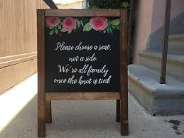 Wedding Seating Signs Seating Signs U2013 Heart And Hand