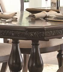 monarch rectangular trestle dining table by samuel lawrence home