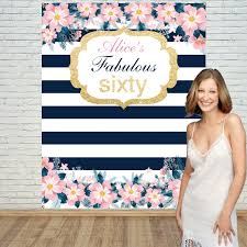Custom Backdrops Birthday Backdrop Birthday Custom Backdrop Floral Backdrop