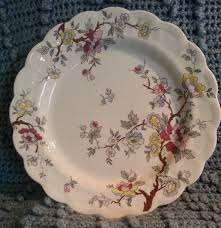 booths tree a8001 dinner plate made in vintage