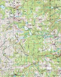 Map Of Yosemite Map Mokelumne Wilderness Topo Backpacking Pct And Tyt
