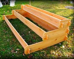 Raised Garden Beds Kits Cedar Raised Garden Bed Kits Planters U0026 By Timberlanegardens