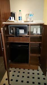Cabinet For Mini Refrigerator Next To The Closet Is A Cabinet With Mini Fridge U0026 Safe Coffee