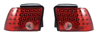 1994 mustang tail lights 1999 2004 mustang led tail light set red and clear taillights