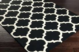 Plaid Area Rug Black And White Checkered Area Rug Cfee Black And White Plaid Area