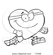 healthy heart coloring pages murderthestout