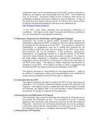 rfp cover letter sample glamorous rfp response cover letter