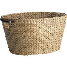 Square Laundry Hamper by Carson Natural Wicker Oval Laundry Basket Pier 1 Imports