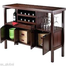Dining Room Table With Wine Rack by Bar Table With Wine Rack U2013 Abce Us