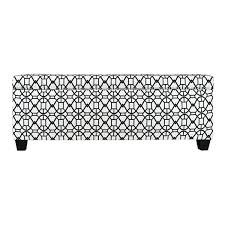 Noah Tufted Storage Ottoman The Sole Secret Noah Windsor Button Tufted Shoe Storage Bench