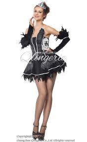 Black Swan Costume Halloween Seductive Swan Costume