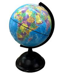 globe exerz educational medium 20 cm swivel globe dia 20cm amazon