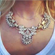crystal collar statement necklace images Promotion 2014 fashion crystal collar statement necklaces jpg