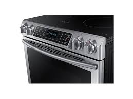 Slide In Cooktop 5 8 Cu Ft Slide In Induction Range With Virtual Flame Ranges