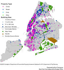 nyc tax maps what type and size of buildings are receiving 421 a property tax