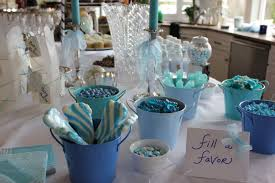 Baby Shower Table Ideas Flower Baby Shower Centerpieces Mini Diaper Cakes Different Colors