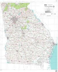 State And County Maps Of State And County Maps Of Georgia Map With Cities Roundtripticket Me