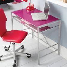 Glass And Metal Corner Computer Desk Multiple Colors Glass Desk Ebay