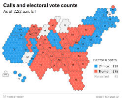2014 Election Map by 2016 Election Night Live Coverage And Results Fivethirtyeight
