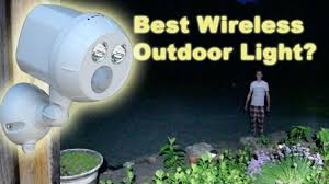 wireless motion lights outdoor best wireless led motion sensor light mr beams ultra bright