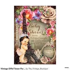 paris baby shower invitations best shower