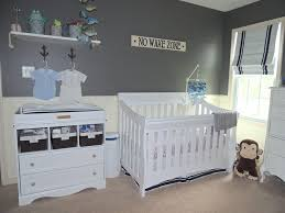 Baby Boy Room Decor Ideas Baby Room Modern Grey Nautical Baby Room Decor With Two Tone