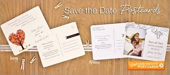 postcard save the dates save the date postcards for weddings bahia design save the date