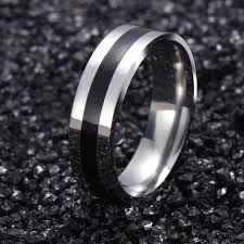 metal male rings images Vintage white gold color 316l stainless steel ring mens jewelry jpg