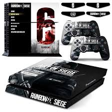 siege sony rainbow six siege ps4 vingl skin decal sticker cover for sony