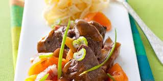 comment cuisiner la joue de boeuf joue de bœuf au cahors facile recette sur cuisine actuelle