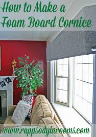 Window Valance Kits How To Make Foam Board Cornice