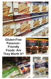 gluten free passover products gluten free passover friendly foods