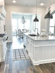 Modern Farmhouse Kitchens 100 Interior Design Ideas Cottage Pinterest Kitchen Runner