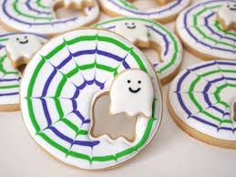 kawaii cute halloween diy crafts ghost cookies rosa and or mom