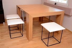 Space Saver Dining Table And Chair Set Havesome Space Saving Table And Chairs Set For 10