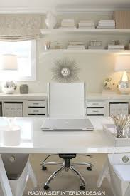 chic home office desk best 25 neutral office curtains ideas on pinterest double