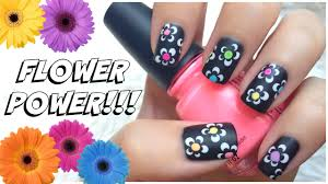easy summer nail art design missjenfabulous youtube