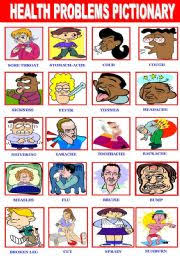 english exercises health problems and treatments