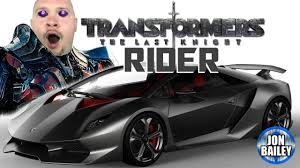 Transformers The Last Knight Rider Youtube
