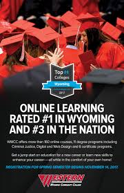 Home Design Certificate Programs by Wwcc Campus News Western U0027s Online Learning Program Rated 1 In