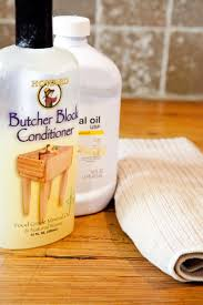 how to oil butcher block countertops kitchn