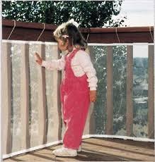 10 u0027 railnet weather resistant balcony u0026 deck railing guard child
