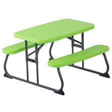 kids outdoor picnic table lifetime children s picnic table assorted colors sam s club