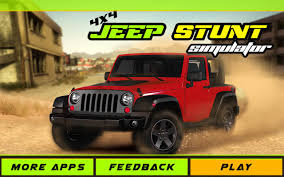jeep landi 4x4 crazy jeep stunt adventure android apps on google play