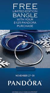 black friday pandora pandora 2015 black friday bangle promotion free dainty bow